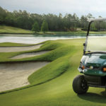 Full lineup of Cushman Utility and beverage vehicles